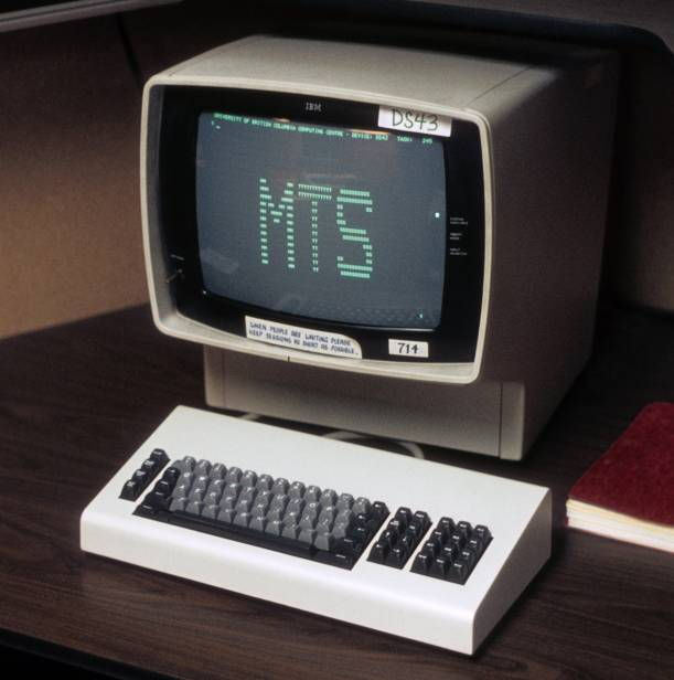 IBM 3270 - http://commons.wikimedia.org/wiki/File:IBM_3277_Display.jpg